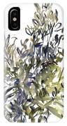 Senecio And Other Plants IPhone Case