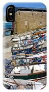 Sennen Cove Fishing Fleet IPhone Case