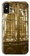 Sepia Spanish Door IPhone Case