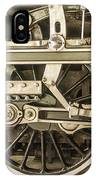 Sepia Wheels IPhone Case