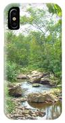 September Arrives At The Unami Creek IPhone Case