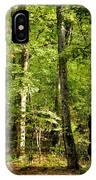 September's Woodlands IPhone Case