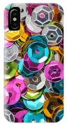 Sequins Abstract IPhone Case