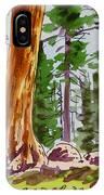 Sequoia Park - California Sketchbook Project  IPhone Case