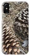 Sequoia Pine Cones IPhone Case