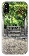 Serene Bench IPhone Case