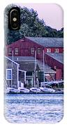 Serene Seaport IPhone Case