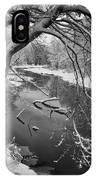 Serene Winter Stream IPhone Case