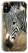 Serengeti Zebra IPhone Case