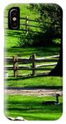 Serenity At Tashmoo Farm IPhone Case
