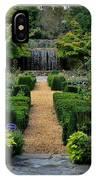 Serenity Garden. IPhone Case