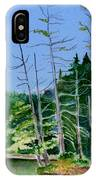 Serenity On The Lake IPhone Case