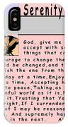 Serenity Prayer IPhone Case