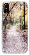 Serenity Walk In The Woods IPhone Case