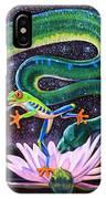 Serpent In The Garden IPhone Case