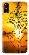 Setting Sun IPhone Case by Parker Cunningham