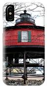 Seven Foot Knoll Lighthouse - Baltimore IPhone Case