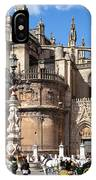 Seville Cathedral In The Old Town IPhone Case