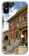Sewickley Municipal Hall IPhone Case
