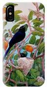 Seychelles Paradise Flycatcher IPhone Case