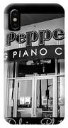Sgt. Peppers Piano Cafe Greeting Card IPhone Case
