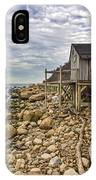 Shack On The Sound IPhone Case