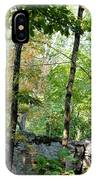 Shade Upon A Rock IPhone Case