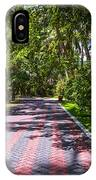 Shadow Alley In Sun Island Resort. Maldives  IPhone Case