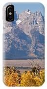 Shadow Mountain Grand Teton National Park IPhone Case