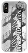 Shadowplay- Spiral Stairs IPhone Case