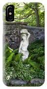 Shady Perennial Garden IPhone Case