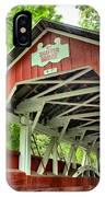 Shafer Covered Bridge IPhone Case