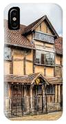 Shakespeare's Birthplace IPhone X Case