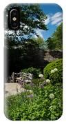 Shakespeares Garden Central Park IPhone Case