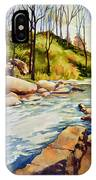 Shallow Water Rapids IPhone Case