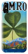 Shamrock Crate Label IPhone Case