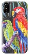 We Are Sharing A Perch  IPhone Case