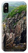 Sharp Jagged Rocks  IPhone Case