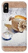 She Sells Sea Shells Decorative Collage IPhone Case