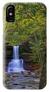Sheldon Reynolds Falls And Kitchen Creek IPhone Case