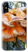 Shelf Fungus In Carl E. Wynn Nature Center In Homer-ak   IPhone Case