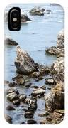 Shell Beach Rocky Coastline IPhone Case