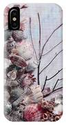 Shell Bouquet  No 6 IPhone Case