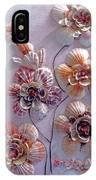 Shell Flowers  No 1  IPhone Case