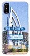Shelter Island Sign San Diego California Usa IPhone Case