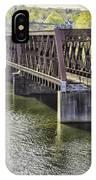 Shelton Derby Railroad Bridge IPhone Case