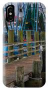 Shem Creek Pier IPhone Case