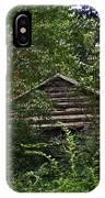 Shenandoah Log Cabin IPhone Case