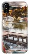 Shepherd Mountain Lake In Twilight IPhone Case