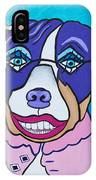 She's A Pit Bull That Wears Lipstick IPhone Case
